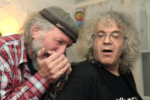 "Calo Rapallo ""rockte den Blues"" am 17. Oktober im Krummhardter Besa"