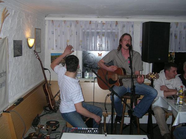 "Besa-Blues mit ""acoustic groove"" am 29.03.2007"