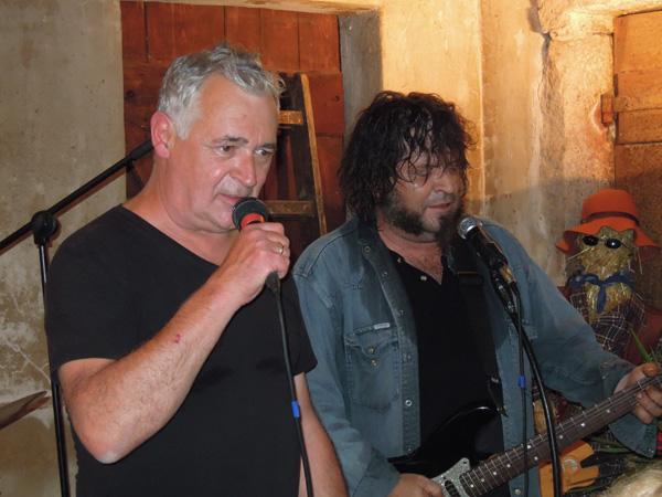 """Schwäbischer Blues-Rock mit """"Highlandzack"""" auf dem Straßenfest in Aichschieß am 13. und 14. September 2014"""