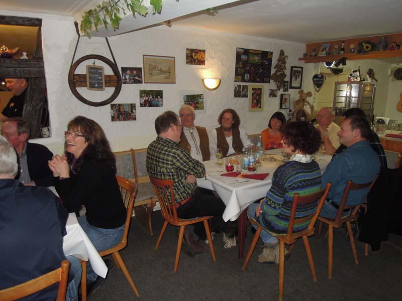 Wild und Wein im Krummhardter Besa am 25. Januar 2014