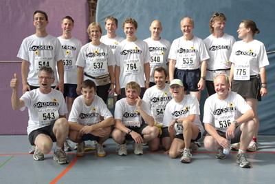 Goldgelb-Team startet beim EZ-City-Lauf am 5. Juli 2009
