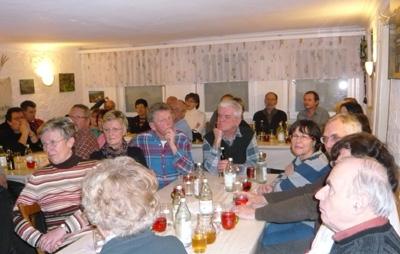 Hauptversammlung am 20. 2. 2009 im Krummhardter Besa