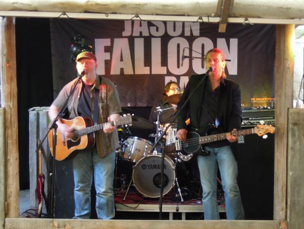 Folkscheuer am 31. Mai im Besagarten mit der Jason Falloon Band