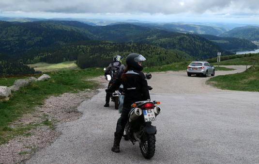 Motorradausfahrt des Kulturvereins Krummhardt vom 19.-21.05.2017