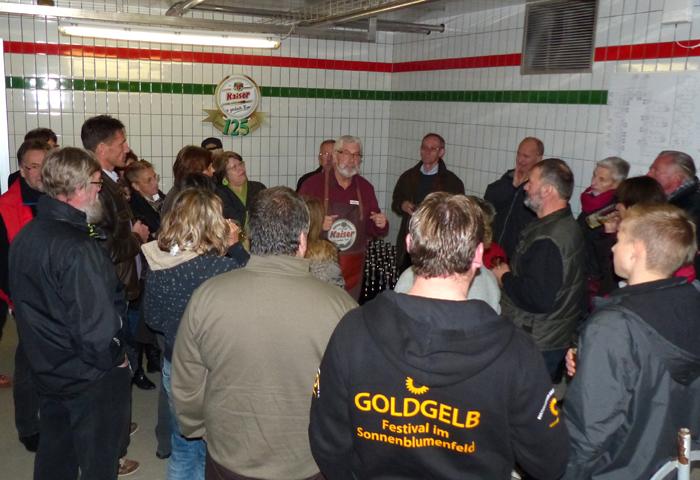 Besuch bei der Kaiserbrauerei in Geislingen am 9. November 2012