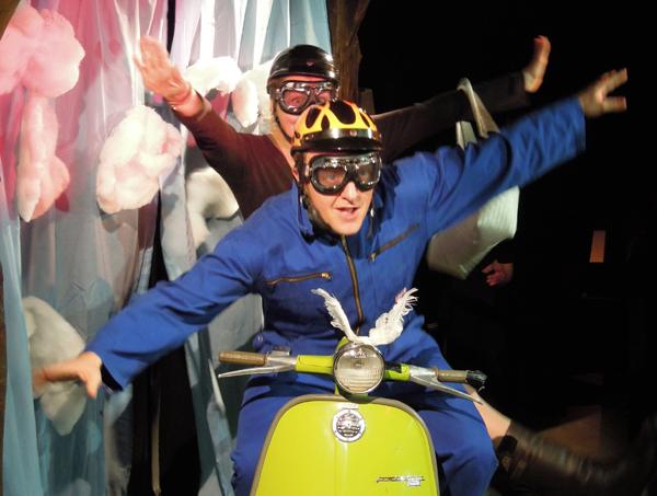 Besuch im Theater an der Linde in Strümpfelbach am 14.11.12