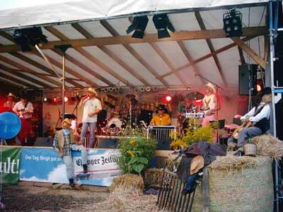Goldgelb-Festival 2003 – Mega-Party im Sonnenblumenfeld