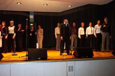 """""""Stimmt! A-cappella vom Feinsten"""" am 28.01.2005 in der Schurwaldhalle"""