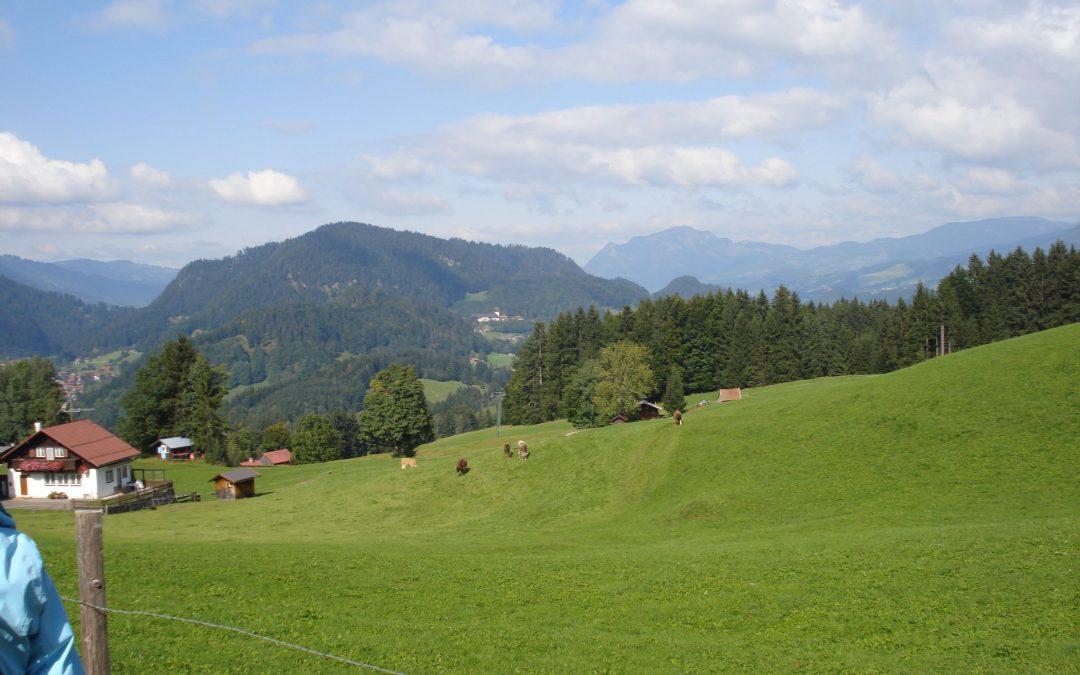 Wanderwochenende ins Kleine Walsertal vom 19. – 21. September 2008