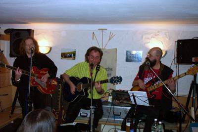 """Besa-Blues am 10.03.05 im Krummhardter Besa: Fantastische Musik von """"GoN"""" begeistert die Besucher!"""