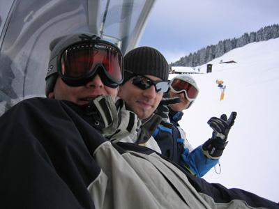 Skiausfahrt nach Saalbach-Hinterglemm vom 12.02.-14.02.2004