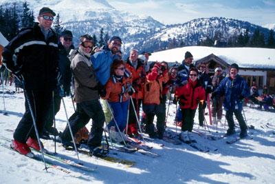 Skiausfahrt nach Nauders vom 15.-18.03.2001