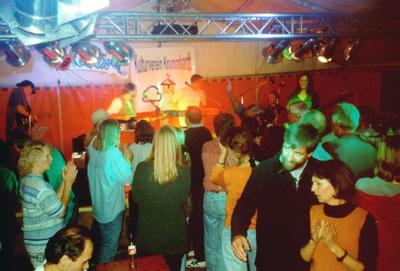 Aichwalder Straßenfest vom 15.-17.09.2000 in Krummhardt.