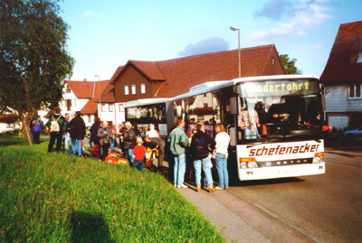 Vereinsausflug auf den Hohen Neuffen 3.09.2000